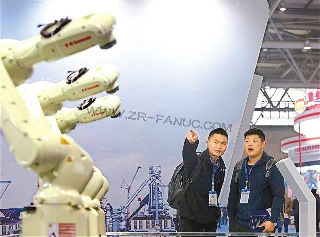 四大全球机器人巨头首次同台亮相