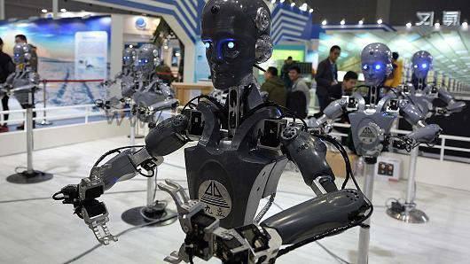 美媒:中国正计划在机器人技术工业上击败美国