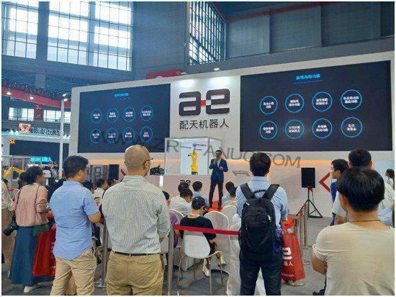 7月4日的精彩都在这里!配天机器人AIR6L新品发布