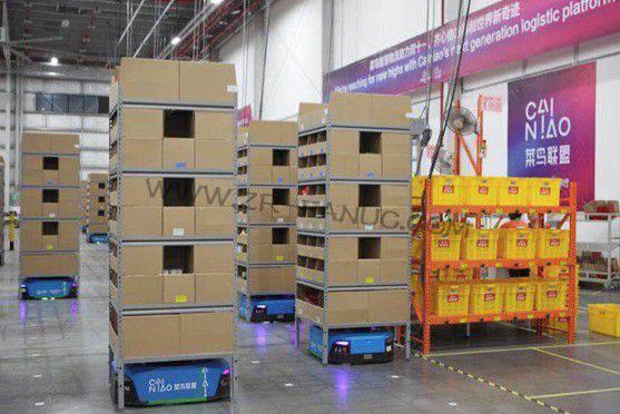 菜鸟超级机器人旗舰仓上线 双11日均可发货百万