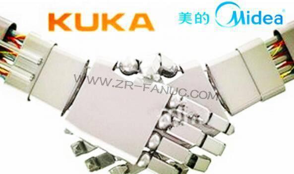 美的与库卡将设合资公司 并在顺德建立机器人生产基地