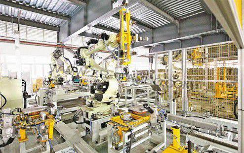 重庆:渝北区车企机器人生产线投产