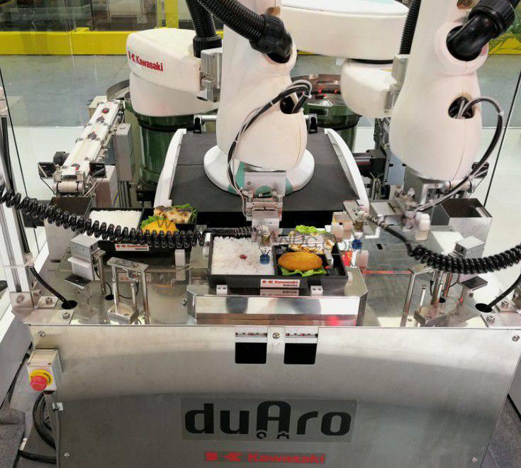 ABB和川崎重工宣布协作机器人自动化合作