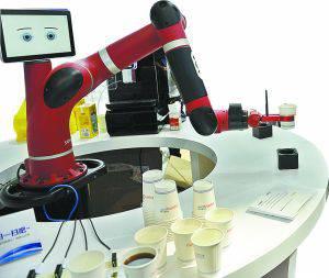 各领域机器人亮相高交会 它们会抢人类饭碗吗?