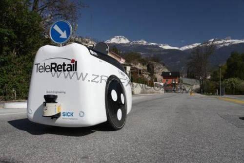 无人驾驶机器人实现安全物流配送